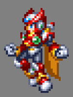 MMX9/MMZ/ZX Style Zero Jump V1. (Preview) by MegaManGamer123