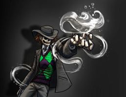 Skulduggery Pleasant - Water by jameson9101322