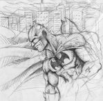 Batman watches, and waits... by DanBoy0812