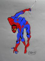 The Amazing Spider-Man coloured by stick-man-11