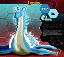 Landas- Lapras fan evolution concept