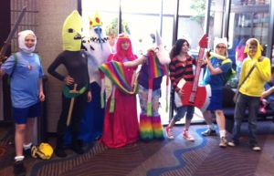 Adventure Time at MTAC 12 by virtualpapercut
