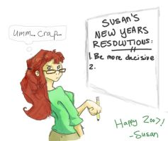 Happy New Years by EmeraldEmpress
