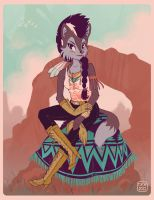 Southwestern Lupe by danee313