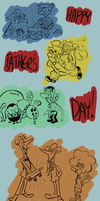 Fathers Day Doodles by TopperHay