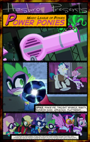 MLP : Power Ponies - Movie Poster by pims1978