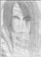 Vincent Valentine by PandaCookie013