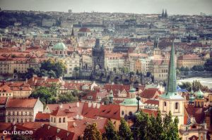Roofs of Prague VIII by olideb08