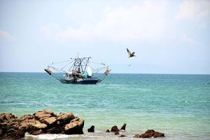 Costa Rican Fishing Boat by PaulMcKinnon