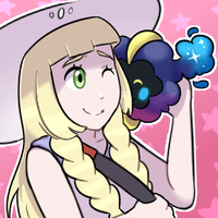 Lillie and Nebby by DaniGhost