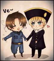 APH: Italy x Holy Roman Empire by Blissyanya