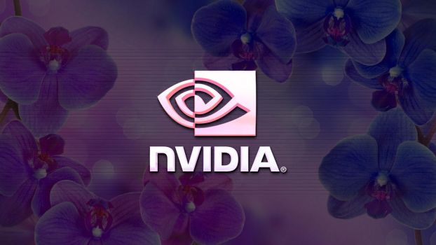 Flower blooming nvidia geforce logo thingy by Shadow1136