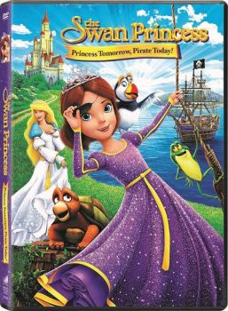 Swan Princess Princess Tomorrow Pirate Today DVD by JoshuaOrro