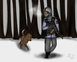 On Patrol by LBFable