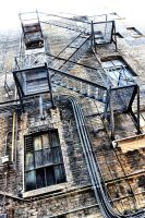 Yet Another Fire Escape by basseca
