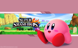 Kirby Wallpaper - Super Smash Bros. Wii U/3DS by AlexTHF