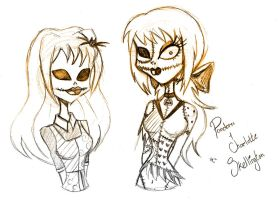 The Skellington Sisters by PrincessAbiliss