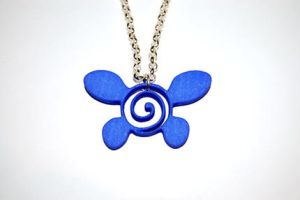Zelda Navi Fairy Necklace by knil-maloon