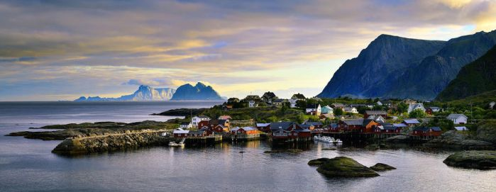 Fishing Village of Tind by AlwaysWanderlust