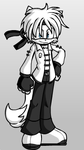Steave the Wolf for Mathy974 by Amy16rose