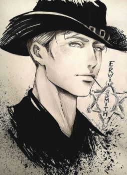 Sheriff Erwin by sakura-streetfighter