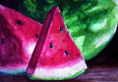 watermelon by anakomb