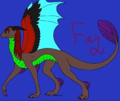 Fay the dragon by PintoFire