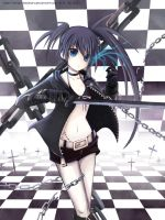 Black Rock Shooter by sunshineikimaru