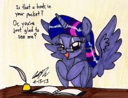 Librarian Twilight by newyorkx3