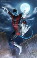 Nightcrawler Fan Art by ferryo