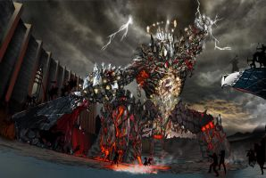 Rift Earth Colossus by Lanstream
