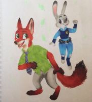 Zootopia by ScratchDixie