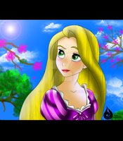 Disney girls: Rapunzel by Venetia-TH