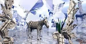 A strange dream zebra. by Sstroitel
