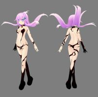 HDNmk2 - Shernini's Devil Outfit by Ke--Y