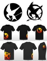 Mockingjay Shirt II by SelenaGuardi
