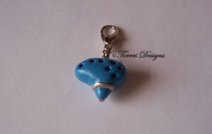 Ocarina of time Charm 7 ZELDA by TorresDesigns