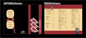 Restaurant Menu by b0bisabuilder