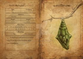 NO.011 Metapod by Mummy-fei