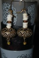 Antiquated Earrings by saourealis