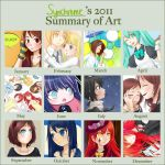 Alice's 2011 Art Summary by synchrome