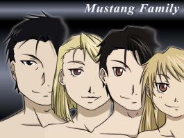 Mustang Family - Ref portrait by NoVaNoah