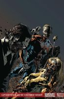 Captain Britain 6 - Zombie Col by davidyardin