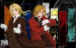 The Elric Brothers Wallpaper by Tentailedbeast
