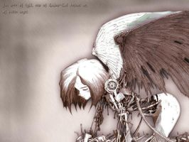 fallen angel by ddddawidddd