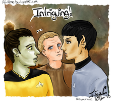 Star Trek TNG, DS9, TOS: Unpredictable by Ai-hime