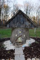 Gnome  Fairy House 03 by FairieGoodMother