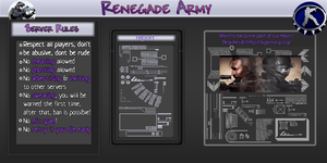 RenegadeArmyServerRules#2 by nibbpower