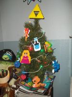 LoZ Christmas Tree by Libbyseay