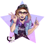 Famous, Fabulous, Filled with glitter by Lilami